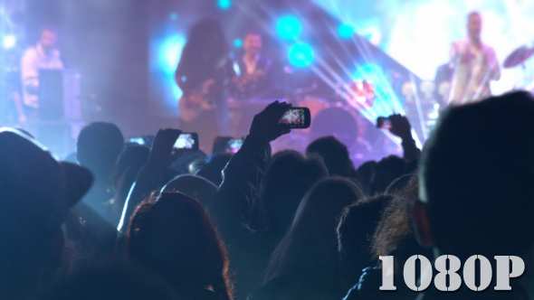 VideoHive Filming the Concert 18742487