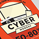 Cyber Monday Flyer