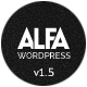 Alfa - Responsive Parallax & Retina Ready WordPress Theme for Freelancers, Studios and Agencies