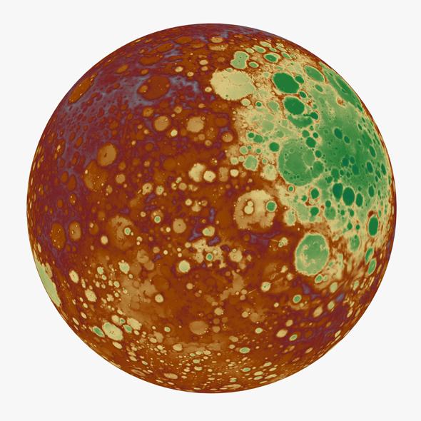 3DOcean Mars 18748320