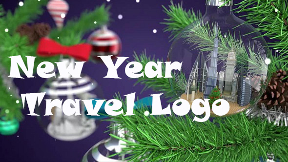Download New Year Travel Logo nulled download