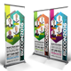 Business Conference Roll-up Banners