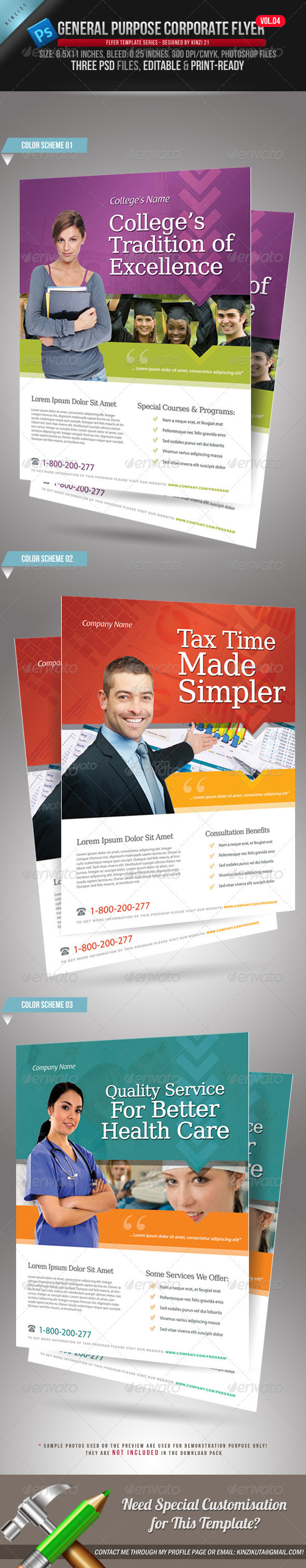 GraphicRiver General Purpose Corporate Flyer Vol 04 1846739