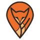 Pinned Fox Logo