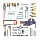 Vector Set Of Working Tools In Flat Style. Design