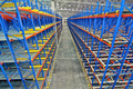 Storage pallet racking system for storage distribution centre