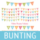 Download Vector Bunting