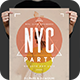 NYC Party Flyer