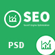 SEO PRO - Search Engine Optimization & Marketing PSD Template