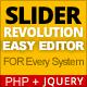Slider Revolution Easy Editor PHP Script