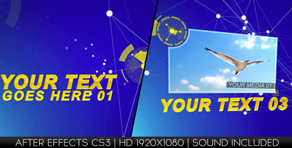 After Effects Project - VideoHive Dynamic Lines 1846989