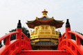 oriental golden pavilion of Chi Lin Nunnery and Chinese garden, - PhotoDune Item for Sale