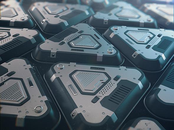 Sci Fi prop - 3DOcean Item for Sale