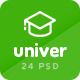 Univer - Multipurpose Education & University PSD Template