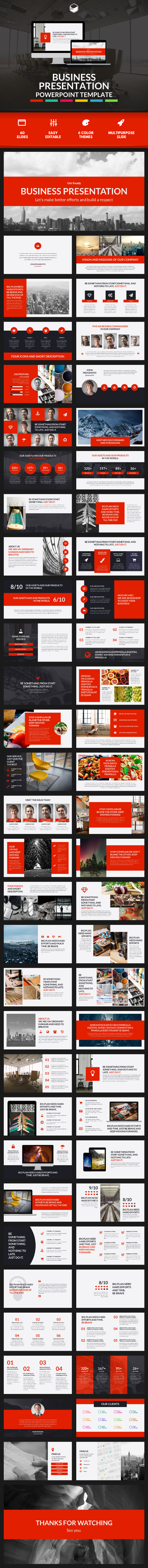 Business Presentation 2 - PowerPoint Template