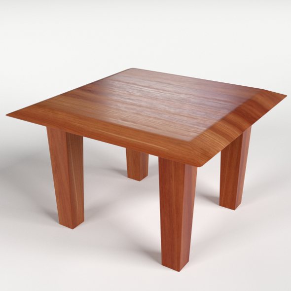Coffe Side Table 1 - 3DOcean Item for Sale