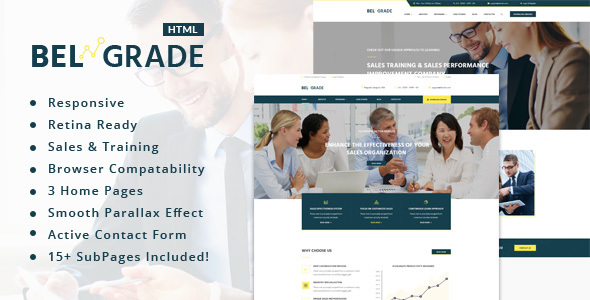 Belgrade - Training, Coaching, Consulting & Business HTML Template