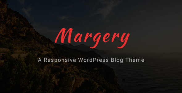 Margery - a Responsive WordPress Blog Theme