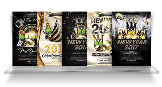 New Year Flyer Collection