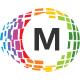 Motion Pixel Editable Letter Logo