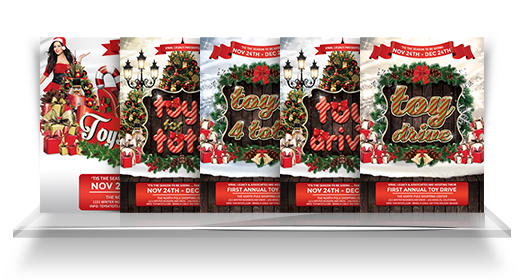 Toys 4 Tots Flyer Collection