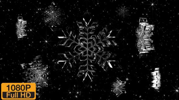Download Snowflake VJ Background Pack nulled download