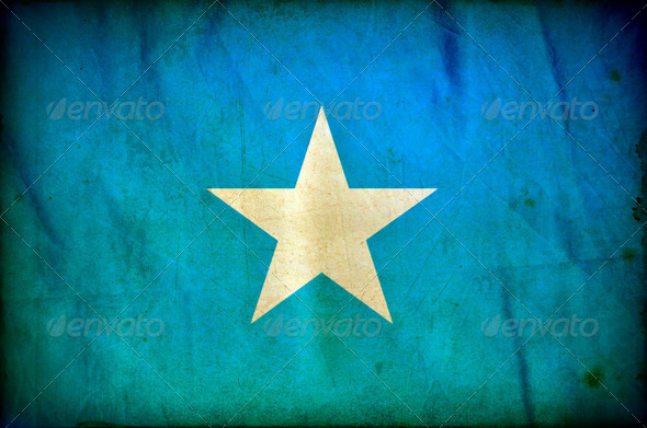 Somalia grunge flag - Stock Photo - Images