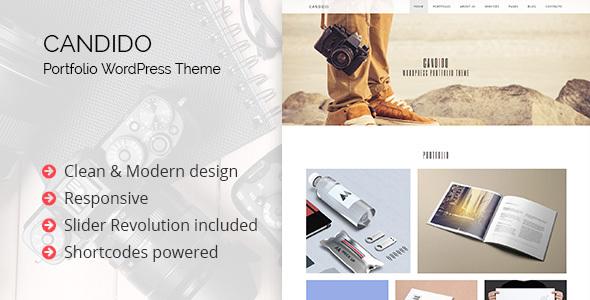 Download Candido - Portfolio WordPress Theme nulled download