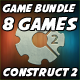 Casual Games Bundle #2 - 8 HTML5 Games (CAPX included)