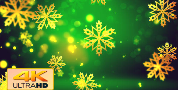 Download Christmas Gold Snowflakes 2 nulled download