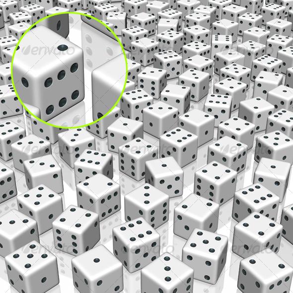 dice background