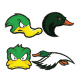 Duck Mascot Logo