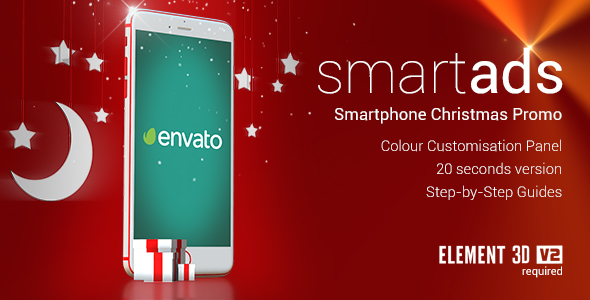 smartAds - Smartphone Christmas 1.1 Commercial (Commercials)