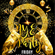 NYE Party Flyer Template 2