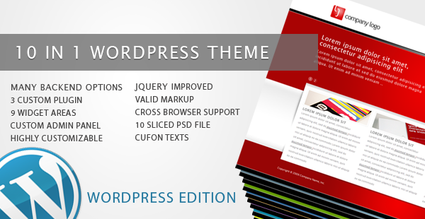 RT-Theme 5 / Business Theme 10 in 1 for Wordpress
