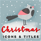 Christmas Motion Icons & Titles