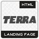 Terra - Landing page for Applications - ThemeForest Item for Sale