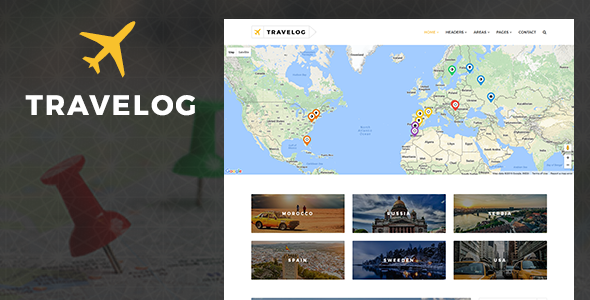 Download Travelog - WordPress Theme For Travelers nulled download