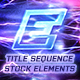 Electro - Electric Title Sequence + 16 Lighting Elements.