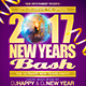 New Years Bash Flyer Template