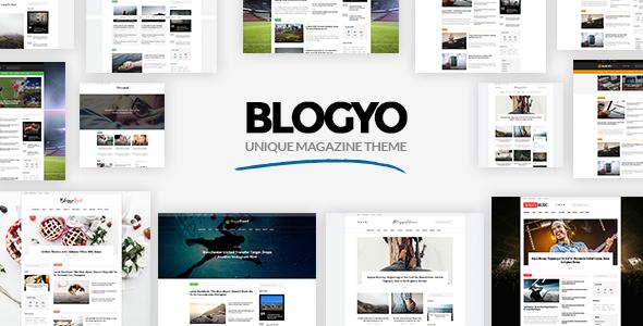 Download Blogyo - Multipurpose Magazine Theme nulled download