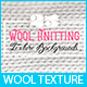 25 Wool Knitting Texture Backgrounds