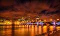 Southwark Bridge panorama