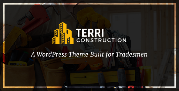 Terri - Construction WordPress Theme