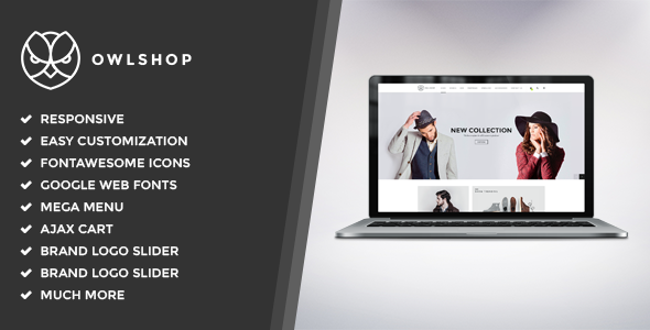 Download Owlshop - Minimalist Ecommerce WordPress Theme nulled download