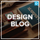 Design Blog - A Minimal and Creative Blog Theme for WordPress