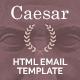 Caesar - Responsive Email Templates + Builder