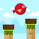 Bird Drop Bird - Buildbox complete game
