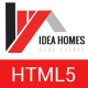 Idea homes - Real Estate Template