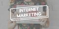 Internet Marketing Data Digital Browser Website Concept